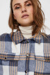VERO MODA® Vestes courtes écru 10252118_SNOW WH CHECK img4