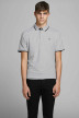 PREMIUM BY JACK & JONES Polos gris 12136668_LIGHT GREY MELA img1