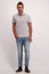 PREMIUM BY JACK & JONES Polos gris 12136668_LIGHT GREY MELA img2