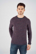 PREMIUM BLUE BY JACK & JONES Pulls col O bleu 12137336_TOTAL ECLIPSE img1