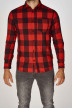 ORIGINALS BY JACK & JONES Chemises (manches longues) rouge 12138283_FIERY RED img1