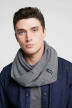 ACCESSORIES BY JACK & JONES Echarpes gris 12138756_GREY MELANGE img2