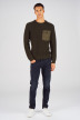 CORE BY JACK & JONES Truien met ronde hals groen 12140246_ROSIN img2