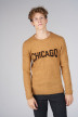 ORIGINALS BY JACK & JONES Pulls col O brun 12140594_BROWN SUGAR KNI img1