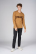 ORIGINALS BY JACK & JONES Pulls col O brun 12140594_BROWN SUGAR KNI img2