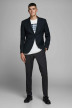 PREMIUM by JACK & JONES Pantalons de costume noir 12141112_BLACK img6