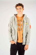 ORIGINALS BY JACK & JONES Sweats avec capuchon gris 12141244_LIGHT GREY MELA img1
