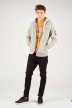ORIGINALS BY JACK & JONES Sweats avec capuchon gris 12141244_LIGHT GREY MELA img2