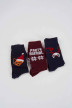 ACCESSORIES BY JACK & JONES Cadeaux (chaussettes) 12144181_NAVY BLAZER TAN img2