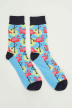 ACCESSORIES BY JACK & JONES Chaussettes 12148541_BLUE ATOLL img1