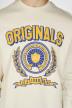 ORIGINALS BY JACK & JONES Sweats col O blanc 12155627_CLOUD DANCER img4