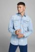 JACK & JONES JEANS INTELLIGENC Hemden (lange mouwen) denim 12158524_BLUE DENIM img1