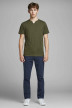 JACK & JONES JEANS INTELLIGENCE Chinos bleu 12159936_NAVY BLAZER img7