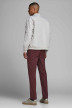 JACK & JONES JEANS INTELLIGENCE Chinos rouge 12159940_BURGUNDY img2