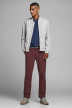 JACK & JONES JEANS INTELLIGENCE Chinos rouge 12159940_BURGUNDY img5