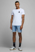 JACK & JONES JEANS INTELLIGENC Shorts denim denim 12166860_BLUE DENIM img2