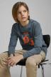 J & J Kids Sweaters met O-hals blauw 12167674_CHINA BLUE img6