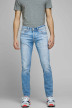 JACK & JONES JEANS INTELLIGENC Jeans slim denim 12168497_AM967 LIGHT BLU img1