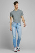 JACK & JONES JEANS INTELLIGENC Jeans slim denim 12168497_AM967 LIGHT BLU img6