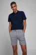 JACK & JONES JEANS INTELLIGENC Shorts gris 12169509_GREY MELANGE img1