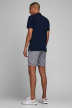 JACK & JONES JEANS INTELLIGENC Shorts gris 12169509_GREY MELANGE img3