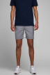 JACK & JONES JEANS INTELLIGENC Shorts gris 12169509_GREY MELANGE img4