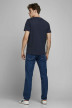 ORIGINALS BY JACK & JONES T-shirts (manches courtes) bleu 12176768_NAVY BLAZER REG img2
