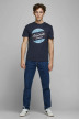 ORIGINALS BY JACK & JONES T-shirts (manches courtes) bleu 12176768_NAVY BLAZER REG img5