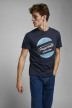 ORIGINALS BY JACK & JONES T-shirts (manches courtes) bleu 12176768_NAVY BLAZER REG img6