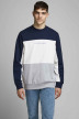 ORIGINALS BY JACK & JONES Sweaters met ronde hals blauw 12176810_NAVY BLAZER AUT img1