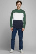 ORIGINALS BY JACK & JONES Sweaters met ronde hals groen 12176810_TREKKING GREEN img6