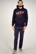 ORIGINALS BY JACK & JONES Sweats avec capuchon bleu 12183200_NAVY BLAZER REG img1
