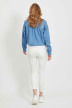 VILA Jeans skinny blanc 14032799_OPTICAL SNOW img3