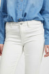 VILA Jeans skinny wit 14032799_OPTICAL SNOW img4