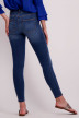 VILA Jeans slim denim 14046287_DARK BLUE DENIM img3