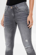 ONLY Jeans skinny gris 15170819_GREY DENIM img4