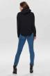 ONLY Sweaters met kap zwart 15186517_BLACK img3