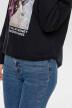 ONLY Sweaters met kap zwart 15186517_BLACK img4