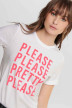 ONLY® T-shirts (korte mouwen) wit 15195777_BRIG WHI PLEASE img4