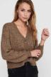 ONLY Cardigans beige 15210998_CAMEL W MELANGE img4