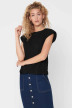 ONLY Tops (sans manches) noir 15224160_BLACK img1