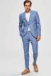SELECTED Kostuumbroeken blauw 16072414_LIGHT BLUE img5