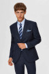SELECTED Blazers blauw 16075089_MED BLUE MEL img1