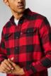 Levi's® Chemises (manches longues) rouge 195730096_0096 BANDURRIA img4