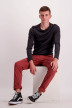 Shine Original Chino's bordeaux 206044_LT BORDEAUX img2