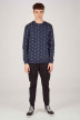 ONLY & SONS Sweaters met ronde hals blauw 22012856_DRESS BLUES img2
