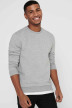ONLY & SONS Sweats col O gris 22018683_LIGHT GREY MELA img4