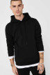 ONLY & SONS® Sweaters met kap zwart 22018685_BLACK img4