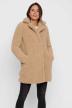 NOISY MAY Lange jassen beige 27010169_WHITE PEPPER img1