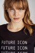 Noisy May T-shirts (manches courtes) noir 27011097_BLACK BW FUTURE img4